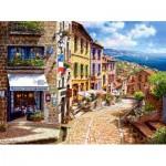 Puzzle  Castorland-300471 Après-Midi à Nice