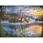 Puzzle  Castorland-300495 Fall Splendor