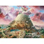 Puzzle  Castorland-300563 Tower of Babel