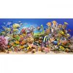 Puzzle  Castorland-400089 La vie sous-marine
