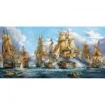 Puzzle  Castorland-400102 Bataille Navale
