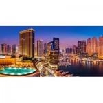 Puzzle  Castorland-400195 Marina Pano, Dubai