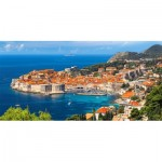 Puzzle  Castorland-400225 Dubrovnik, Croatie