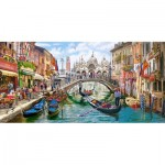 Puzzle  Castorland-400287 Charms of Venise