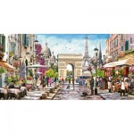Puzzle  Castorland-400294 Essence of Paris
