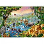 Puzzle  Castorland-52141 Jungle River