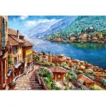 Puzzle  Castorland-52639 Lac de Côme