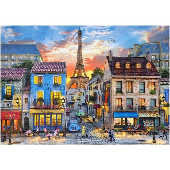 Dominic Davison : Rue de Paris
