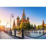 Puzzle  Castorland-52714 Cathédrale Saint-Basile, Moscou