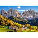 Puzzle  Castorland-52738 Santa Maddalena in Val di Funes, Italie
