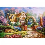Puzzle  Castorland-53032 Wiltshire Gardens
