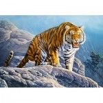 Puzzle  Castorland-53346 Tiger on the Rocks