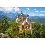 Puzzle  Castorland-53544 View of the Neuschwanstein Castle