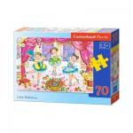 Puzzle  Castorland-B-007059 Les Petites Ballerines