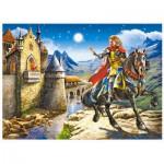 Puzzle  Castorland-B-12992 Le Chevalier et la Princesse