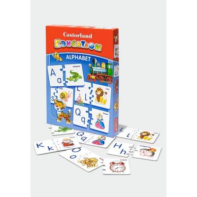 Puzzle Castorland-E-043 Alphabet en Anglais - pour apprendre en s'amusant
