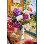 Puzzle   Still Life with Hydrangeas