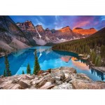 Puzzle   Sunrise at Moraine Lake, Canada