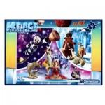 Puzzle  Clementoni-07428 Pièces XXL - Ice Age
