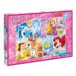 Puzzle  Clementoni-07437 Pièces XXL - Disney Princess