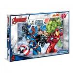 Puzzle  Clementoni-07440 Pièces XXL - Avengers