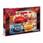Puzzle  Clementoni-07532 Pièces XXL - Cars 3