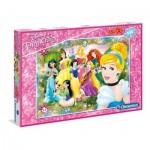 Puzzle  Clementoni-07534 Pièces XXL - Disney Princess