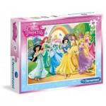 Puzzle  Clementoni-08503 Disney Princess