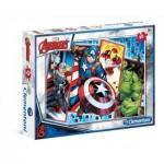 Puzzle  Clementoni-08518 Marvel Avengers