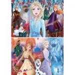 2 Puzzles - La Reine des Neiges 2