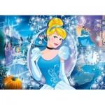 Clementoni-20132 Puzzle Brillant - Disney Princess