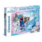 Puzzle  Clementoni-20133 La Reine des Neiges