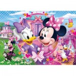 Clementoni-20145 Brilliant Puzzle - Minnie