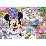 Clementoni-20154 Jewels Puzzle - Minnie Happy Helper