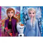 Puzzle  Clementoni-20251 Disney - La Reine des Neiges 2