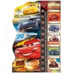 Puzzle  Clementoni-20319 Pièces XXL - Cars 3
