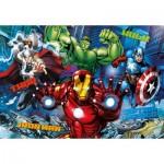 Puzzle  Clementoni-20606 Effet 3D - Avengers