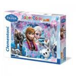 Puzzle  Clementoni-23662 Pièces XXL - La Reine des Neiges