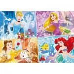 Puzzle  Clementoni-23703 Pièces XXL - Disney Princess