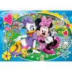Puzzle  Clementoni-23708 Pièces XXL - Minnie Mouse