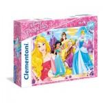 Puzzle  Clementoni-23714 Pièces XXL - Disney Princess