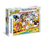 Puzzle  Clementoni-23718 Pièces XXL - Disney Duck Tales