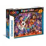 Puzzle  Clementoni-23719 Pièces XXL - Coco