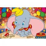 Puzzle  Clementoni-23728 Pièces XXL - Dumbo