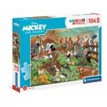 Puzzle  Clementoni-23759 Pièces XXL - Mickey