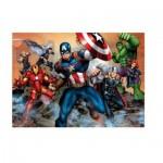 Puzzle  Clementoni-23985 Pièces XXL - Avengers