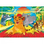 Puzzle  Clementoni-24056 Pièces XXL - The Lion Guard