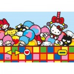 Puzzle  Clementoni-24202 Pièces XXL - Hello Kitty