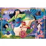 Puzzle  Clementoni-24206 Pièces XXL - Disney Mulan
