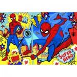 Puzzle  Clementoni-24216 Pièces XXL - Spiderman